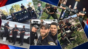 Viral 'hot cops' photo puts spotlight on law enforcement