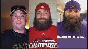 Washington Nationals 'super fan' who pledged 7 years ago to grow beard until team won World Series to shave at parade Saturday