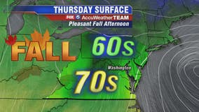 Pleasant fall afternoon as Thursday stays cool and dry