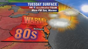 Warm and sunny as October arrives to temperatures in the 80s; record heat possible Wednesday