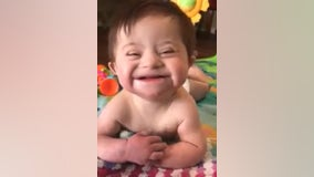 Video of adopted girl with Down syndrome smiling from ear to ear goes viral