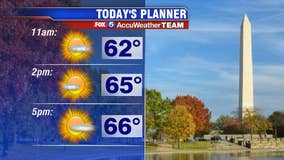 Saturday forecast: It definitely feels like fall today