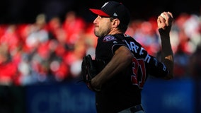 Scherzer, timely hits give Nats two-game lead in NLCS