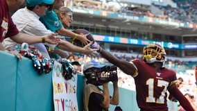 Won and done: Redskins snap losing streak at Miami
