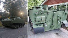 Restored Vietnam-era military tank selling for $85K on Facebook