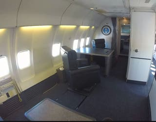The Vice President S Plane An Exclusive Look Inside Air Force Two