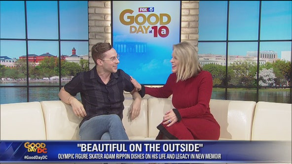 """Olympic figure skater Adam Rippon discusses his new book, """"Beautiful on the Outside"""""""