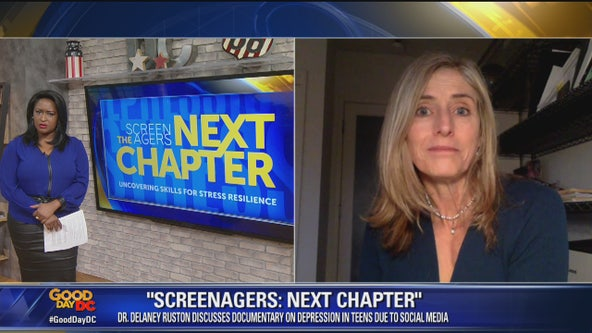 "Filmmaker discusses new documentary, ""Screenagers: Next Chapter"""