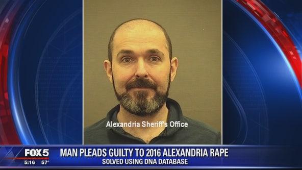 Man pleads guilty to 2016 Alexandria lifeguard rape