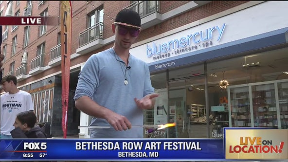 Bethesda Row Arts Festival preview: glass blowing