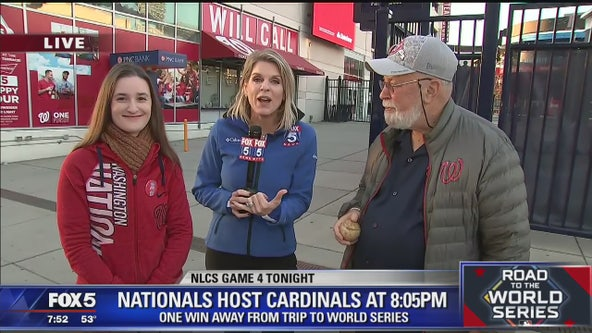 Fox 5 DC talks with two super Nats fans
