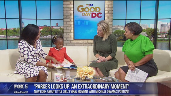 4-year-old author discusses new book, viral moments with Michelle Obama and more