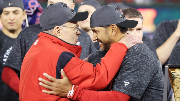 Ted Lerner celebrates 94th birthday as Washington Nationals advance to World Series