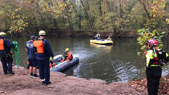 Submerged vehicle found in Seneca Creek in Montgomery County
