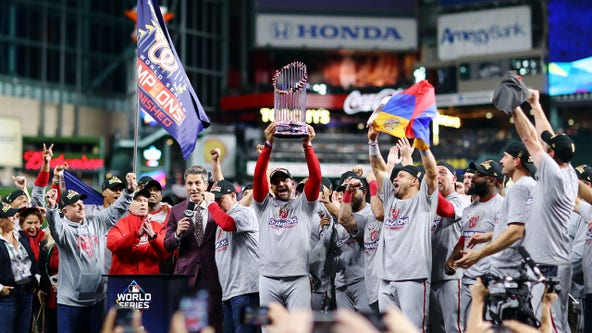 Washington Nationals to celebrate 2019 World Series Championship in place of ceremonial first pitch