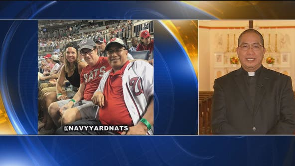 Living on a prayer: Southeast DC priest celebrates faith and baseball