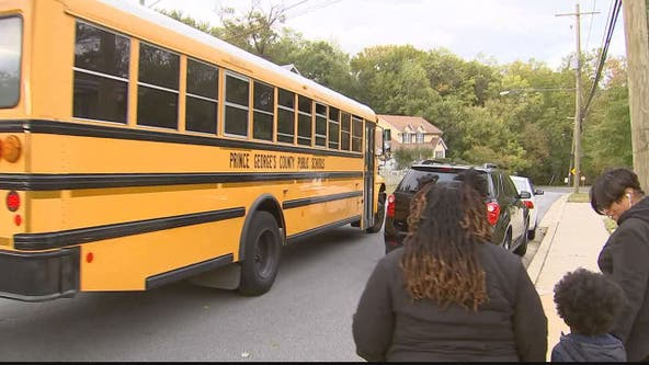 Prince George's County students wait hours to get to and from school during bus driver shortage