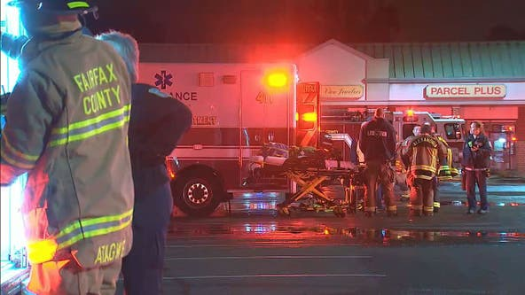 6-alarm fire damages business in Fairfax County