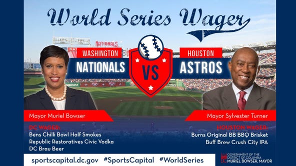 DC, Houston mayors make customary wager on 2019 World Series