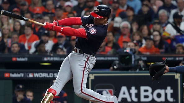Nationals finally get on the field, rally to beat Braves 6-5
