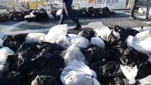 Coast Guard offloads $92 million worth of cocaine in San Diego