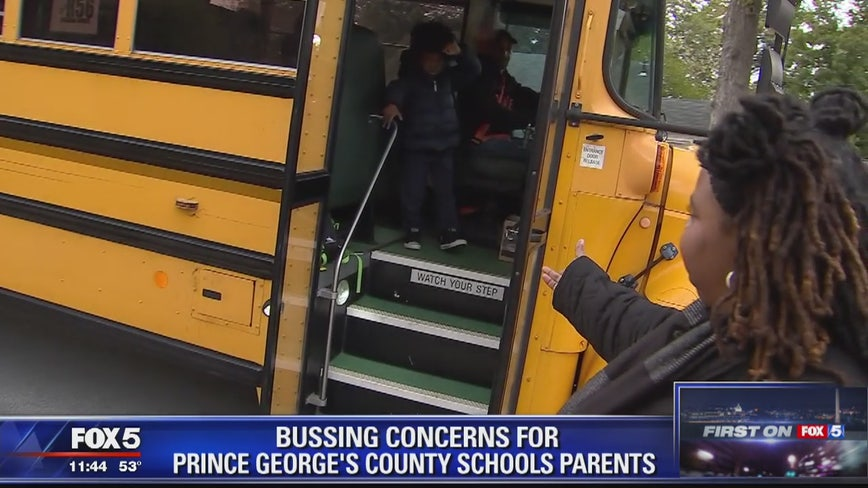 Bussing concerns for Prince George's County Schools parents