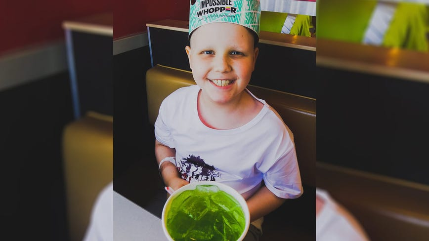 Boy undergoing treatment for rare form of cancer asks for cards for 10th birthday