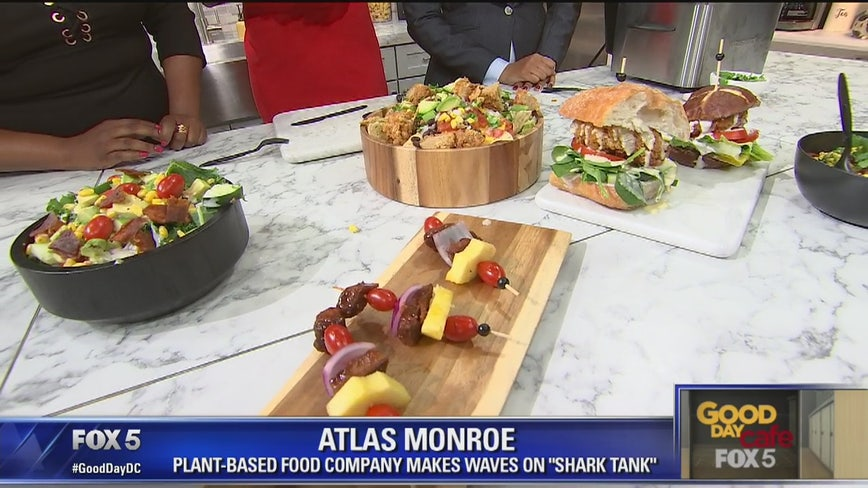 """From """"Shark Tank"""" to the Good Day Cafe: Cooking with Atlas Monroe"""