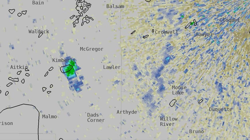 Flock of 600,000 ducks appears on National Weather Service radar near Duluth