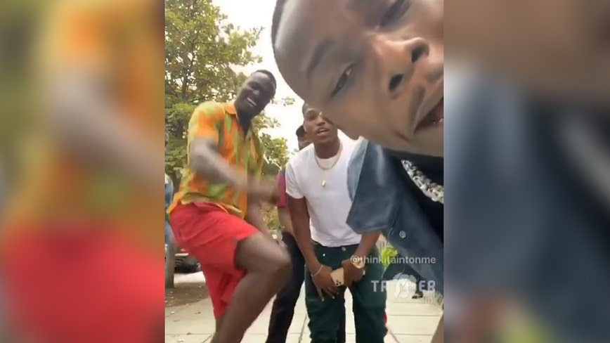 Rapper Da Baby dances in DC streets to promote No. 1 album 'Kirk'