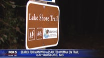 Search underway for man who assaulted woman on trail