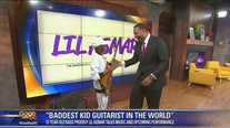 12-year-old bass guitar prodigy Lil Asmar jams with Good Day DC's Wisdom Martin