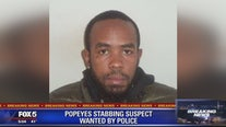 Popeyes stabbing suspect wanted by police