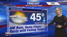 Monday Night Weather Forecast