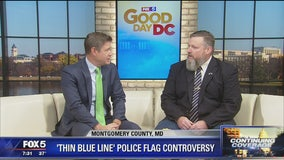 Police support group board member weighs in on flag controversy
