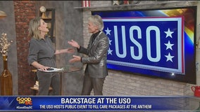 """Backstage at the USO and holiday fashion trends with """"Say Yes to the Dress: Atlanta"""" star Monte Durham"""