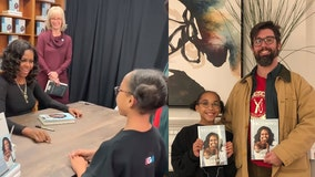 DCPS teacher takes student to meet hero, former first lady Michelle Obama: 'They were absolutely giddy'