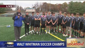 Walt Whitman soccer players talk repeat state championship win