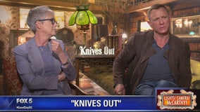 Jamie Lee Curtis, Daniel Craig star in Knives Out