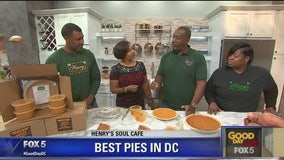Sweet potato pie from Henry's Soul Cafe