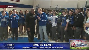 Show Us Your Spirit   O'Connell players rally ahead of game