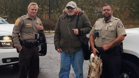 Sheriff's deputies form relay across county lines to get disabled veteran to doctor's appointment 100 miles away