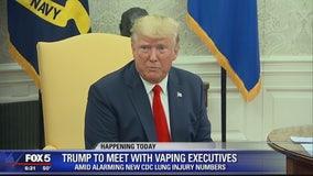 President Trump to meet with vaping executives