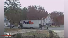 FedEx truck stolen at gunpoint in Bowie, police say