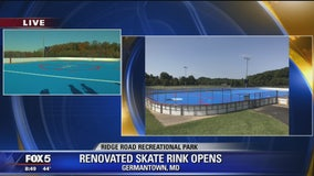 Renovated skate rink opens in Germantown