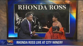 Rhonda Ross LIVE in the Loft ahead of concert at City Winery