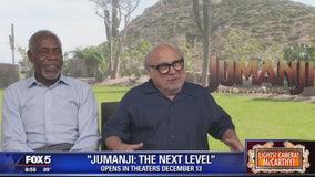 Danny DeVito, Danny Glover talk Jumanji: The Next Level