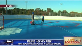 New inline hockey rink in Germantown