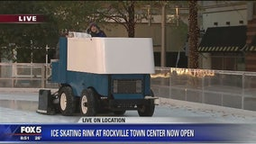 Keeping care of skates and ice at Rockville skating rink