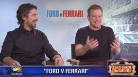 Matt Damon, Christian Bale star in Ford v Ferrari
